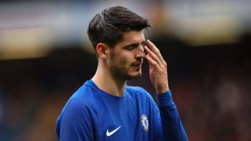 Alvaro Morata struggled during his time at Chelsea