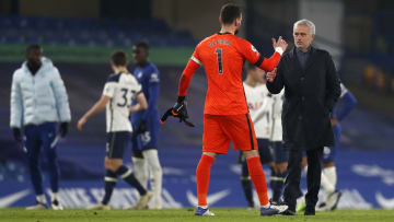 Mourinho singled out Lloris for praise after Spurs' victory over Chelsea