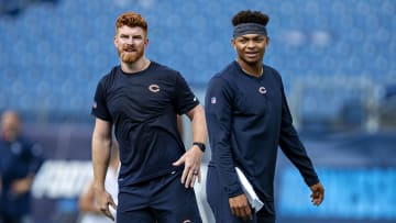 Andy Dalton and Justin Fields