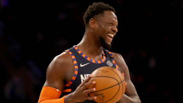 New York Knicks forward Julius Randle is the favorite over Jerami Grant in the odds to win the NBA's Most Improved Player award.