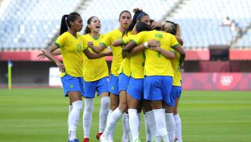 Brasil avançou às quartas como líder de sua chave