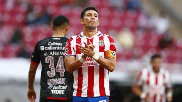 El jugador Jesús Molina.