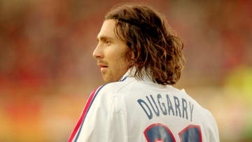 Christophe Dugarry won the 1998 World Cup and Euro 2000 with France