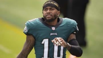 DeSean Jackson injury update crushes his Week 8 fantasy football outlook.