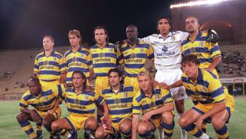 Once del Parma que obtuvo muchos éxitos en los noventa