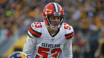 Former Cleveland Browns LB Joe Schobert