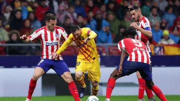 Lionel Messi, Saul Niguez, Thomas Partey, Koke