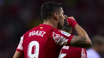 Luis Suarez avait sans doute préparé cette étonnante célébration.