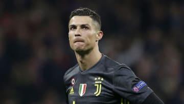 Cristiano Ronaldo sous le maillot de la Juventus
