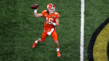 Trevor Lawrence, College Football Playoff National Championship - Clemson v LSU