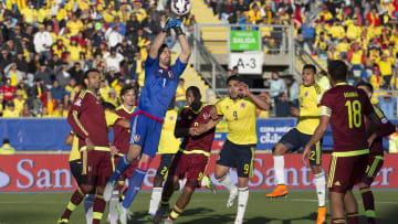 Colombia vs Venezuela during the 2015 Copa America in Chile