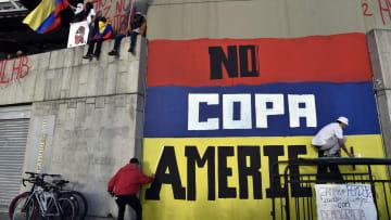 Le proteste in Colombia contro la Copa America