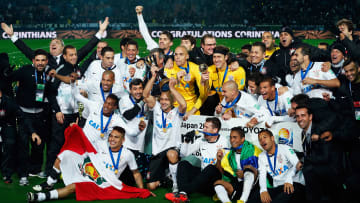 Corinthians celebrando