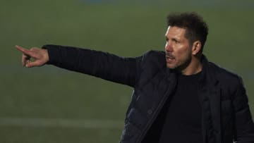 Diego Simeone offered a cryptic response about his future