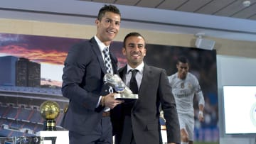 Cristiano Ronaldo con Jorge Mendes