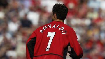 Cristiano Ronaldo of Manchester United
