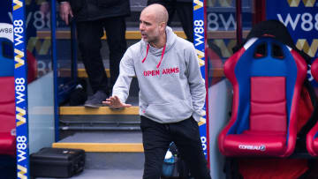 Pep Guardiola expects a tough game against PSG