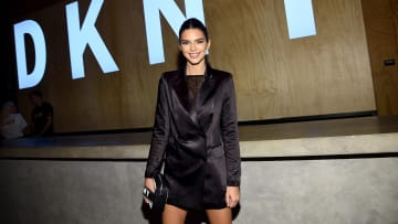 Kendall Jenner at DKNY Turns 30 With Special Live Performances By Halsey And The Martinez Brothers - Inside