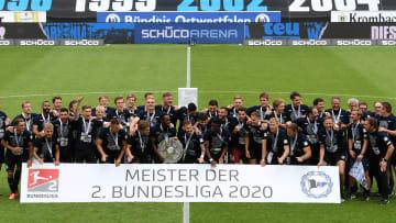 Im letzten Jahr stieg Arminia Bielefeld als Meister in die Bundesliga auf