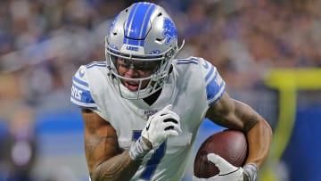 Detroit Lions receiver Marvin Jones has set a lofty goal for 2020.