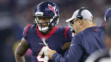 Houston may have a problem with Deshaun Watson's apparent desire for the team to sign receiver Antonio Brown.