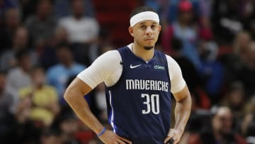 Seth Curry, Dallas Mavericks v Miami Heat