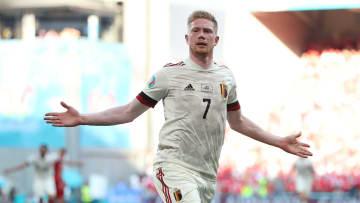 De Bruyne was brilliant against Denmark