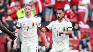 There is an update on the fitness of Eden Hazard and Kevin De Bruyne