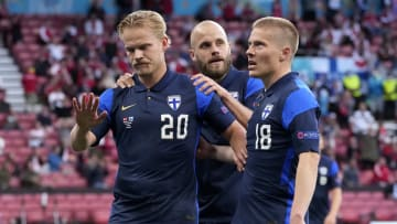 Finland earned their first win at a major tournament on Saturday