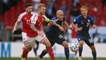 Dinamarca e Finlândia vão voltar a campo