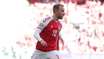 Eriksen suffered a cardiac arrest on the pitch against Finland