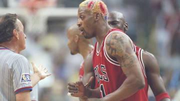 Dennis Rodman jugó con los Bulls por tres temporadas