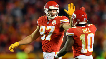 Travis Kelce, Tyreek Hill