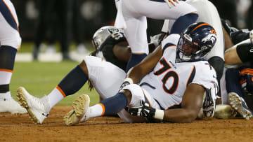 Ja'Wuan James fue dejado en libertad por los Broncos