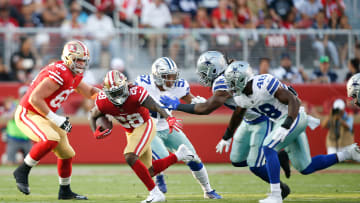 Injured San Francisco 49ers RB/informant Jerick McKinnon