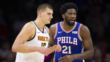 Denver Nuggets star Nikola Jokic holds a lead over Philadelphia 76ers big man Joel Embiid in the odds to win NBA MVP.