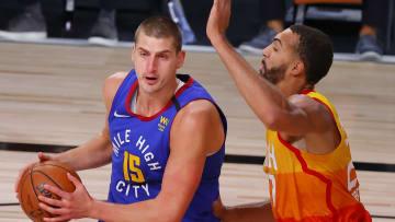 Nikola Jokic has been dominant against the Jazz this season.
