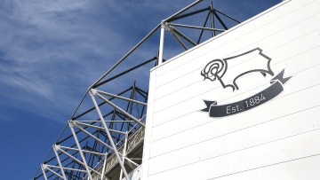 Derby County were threatened with relegation