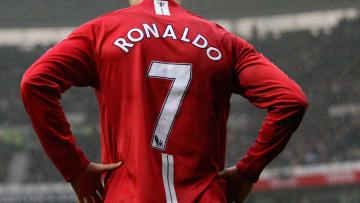 Cristiano Ronaldo avec  Manchester United