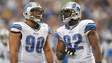 Ndamukong Suh, Corey Williams, Cliff Avril