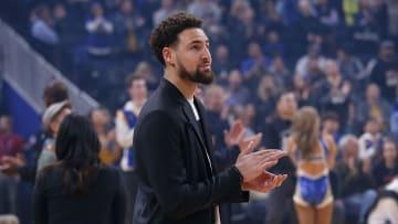 Klay Thompson, Detroit Pistons v Golden State Warriors