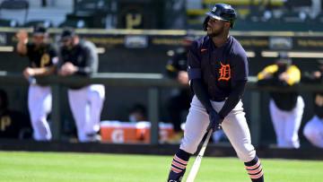 Akil Baddoo está disputando su primera campaña en la MLB