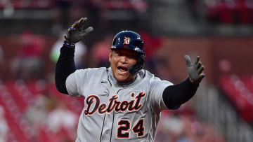 Miguel Cabrera hit the 501st home run of his career