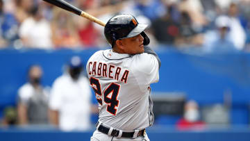 Miguel Cabrera is Detroit's first player in the 500 home run club