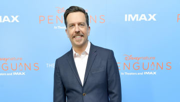 "Andy Bernard actor Ed Helms said his favorite memory from 'The Office' was being Deangelo Vickers' ""jester."""