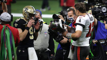 Tom Brady and Drew Brees