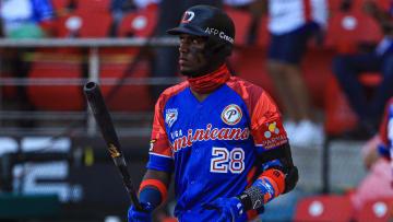 Junior Lake es el quinto bate de los dominicanos para el duelo contra Venezuela