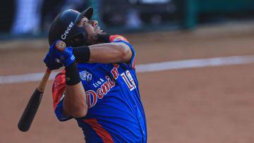 Melky Cabrera bateó para .385 con 4 carreras remolcadas en los primeros 3 juegos de Dominicana en la Serie del Caribe