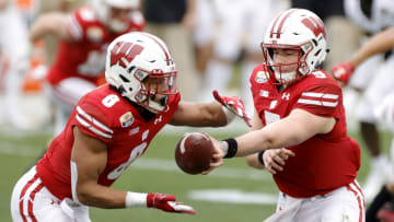Wisconsin's offense success in 2021 will come down to Graham Mertz and Jalen Berger.