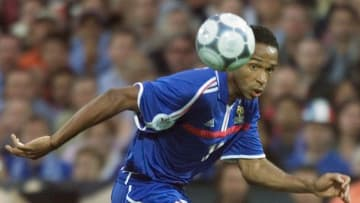 Thierry Henry won Euro 2000 with France